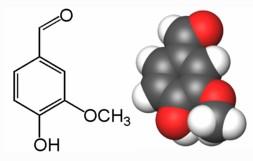 vainillina molecula